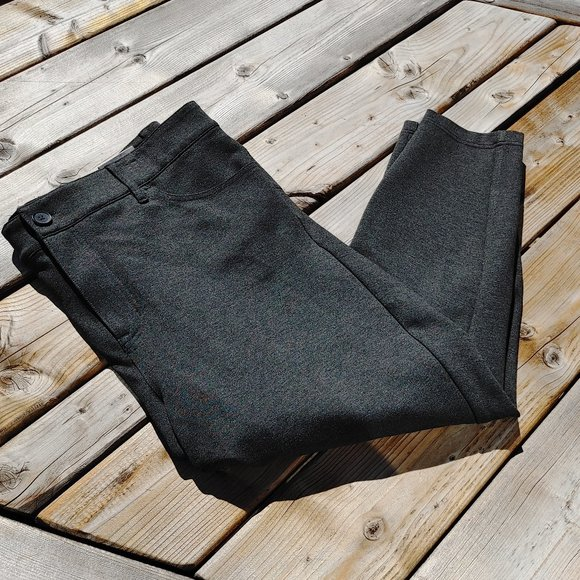 TORRID Bombshell Skinny Premium Ponte Pant - Charcoal Grey 22 BNWT Crop